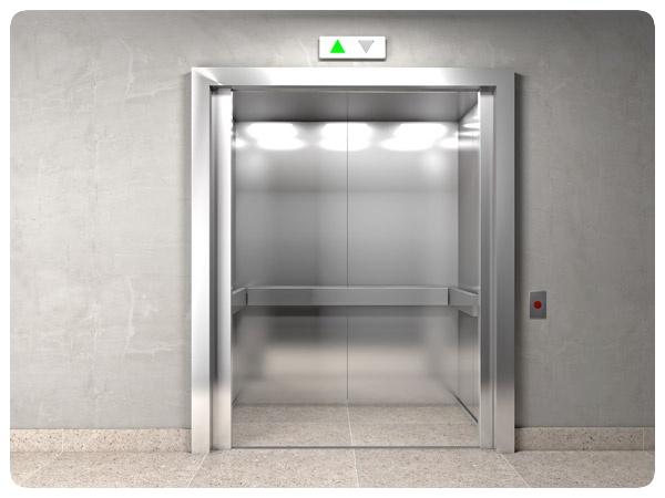 IJsmuts in de lift